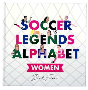 Soccer Legends Alphabet Book : Women