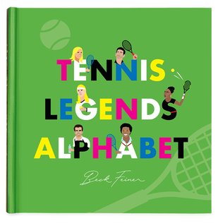 Tennis Legends Alphabet Book