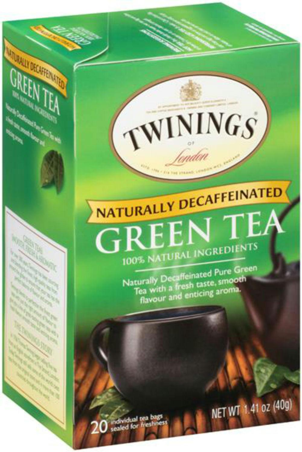 Twinings Of London: Tea Decaffeinated Green Tea, 20 Tea Bags, 1.23 Oz