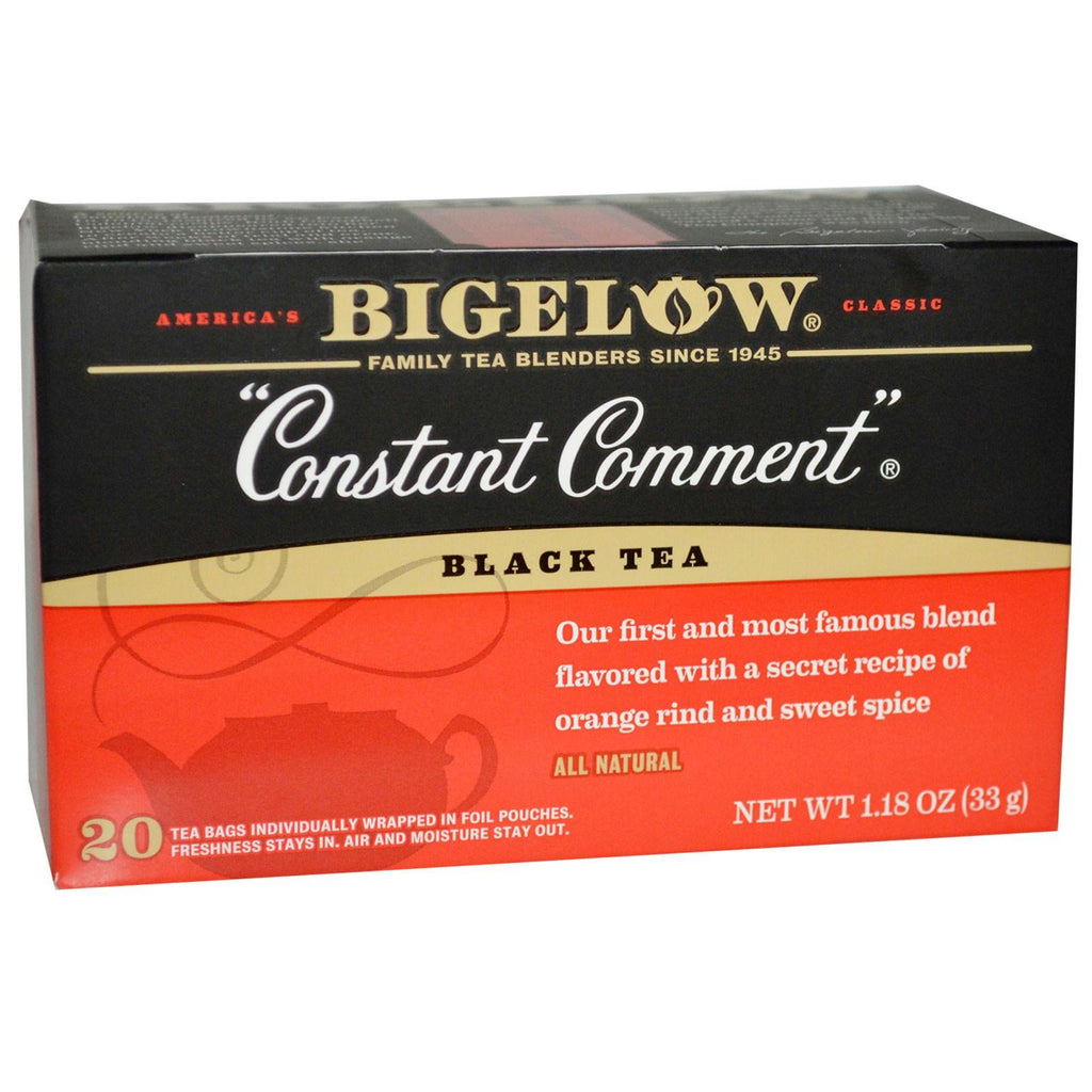 Bigelow: Constant Comment Black Tea, 20 Tea Bags
