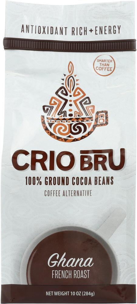 Crio Bru: Coffee Ghana French Roast, 10 Oz