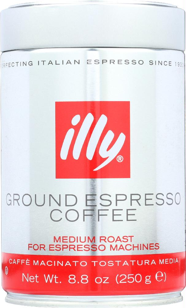 Illycaffe: Coffee Ground Normale Fine, 8.8 Oz