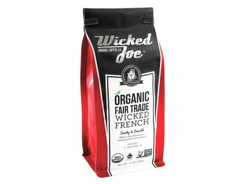 Wicked Joe Coffee: Coffee Wicked French Wholebean, 12 Oz