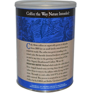 Cafe Altura: Organic Coffee Regular Roast Decaf, 12 Oz