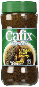 Cafix: Crystals All Natural Instant Beverage Coffee Substitute, 7 Oz