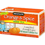 Bigelow Tea: Herbal Tea Caffeine Free Orange & Spice, 20 Tea Bags