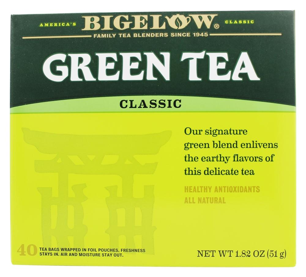 Bigelow: Green Tea Delicate Flavor Healthy Antioxidants 40 Tea Bags, 1.82 Oz