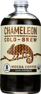 Chameleon: Cold-brew Organic Coffee Concentrate Mocha, 32 Oz