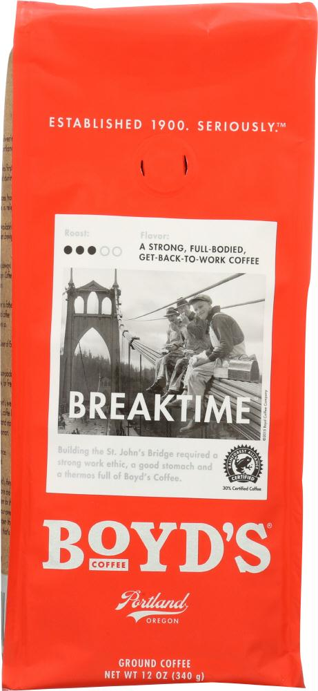 Boyds: Breaktime Coffee, 12 Oz