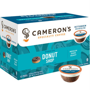Camerons Coffee: Donut Shop Coffee 12 Ct, 4.33 Oz