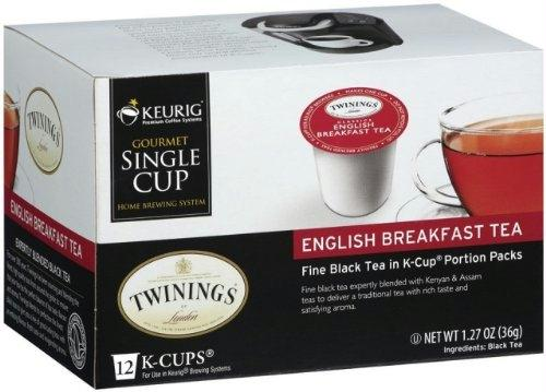 Twinings Of London: Tea Kcups English Breakfast Tea, 12 Cups, 1.27 Oz