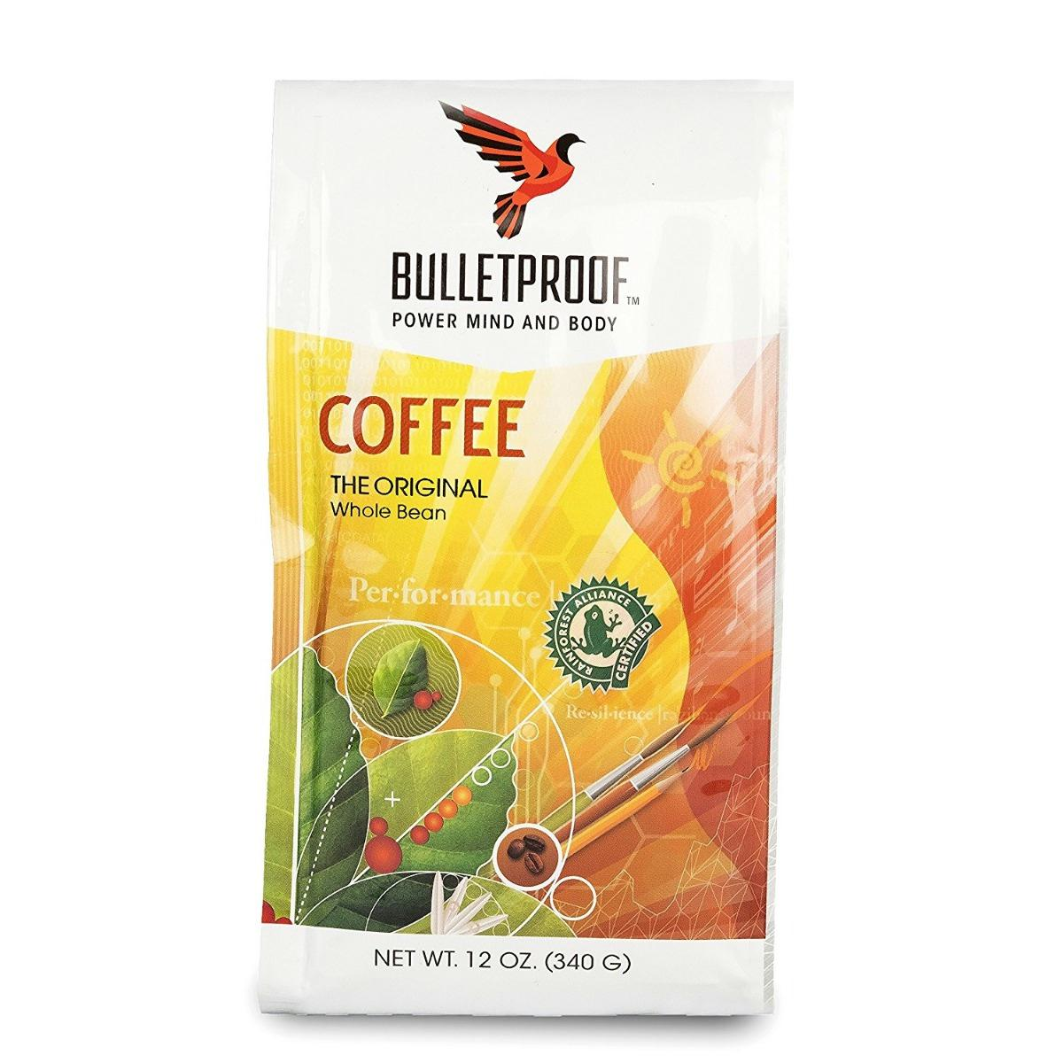 Bulletproof: Coffee Whole Bean, 12 Oz