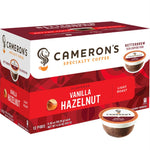 Camerons Coffee: Vanilla Coffee Hazelnut Ss, 4.33 Oz