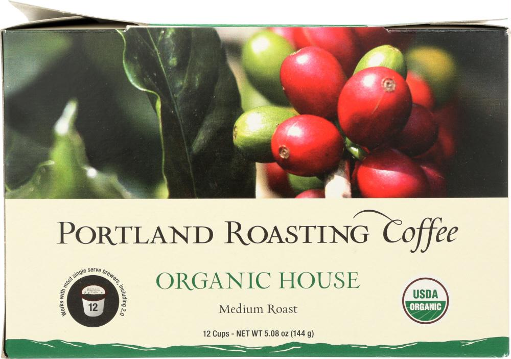 Portland Roasting: Coffee House Single Serve Organic, 5.08 Oz