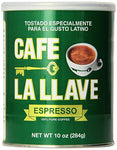 Cafe La Llave: Pure Espresso Coffee, 10 Oz