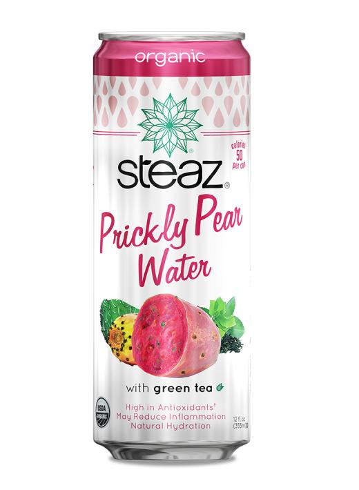 Steaz: Water Prickly Pear Green Tea Original, 12 Fl Oz