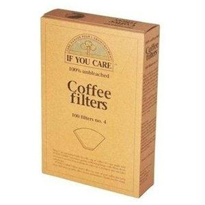 If You Care: Coffee Filters No. 4 Size, 100 Filters