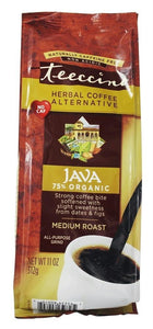 Teeccino: Herbal Coffee Mediterranean Java Medium Roast Caffeine-free, 11 Oz
