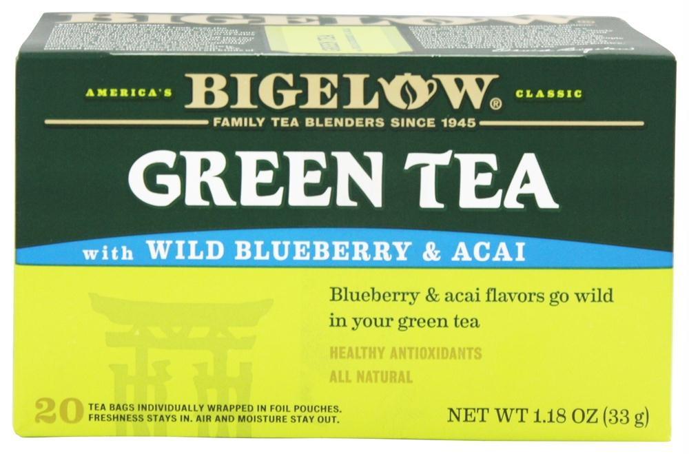 Bigelow Tea: Green Tea Wild Blueberry & Acai, 20 Tea Bags