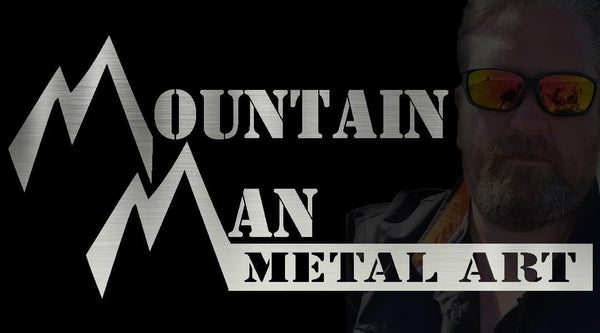 Mountain Man Metal Art - American Made in the Black Hills of South Dakota