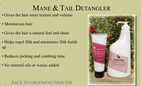 EquiScentials Mane and Tail detangler