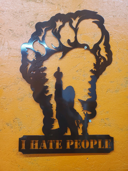 "Big Foot ""I hate people"""
