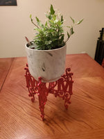 """Mom"" plant stand"