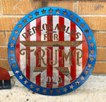 Trump Deplorables Circle Flag