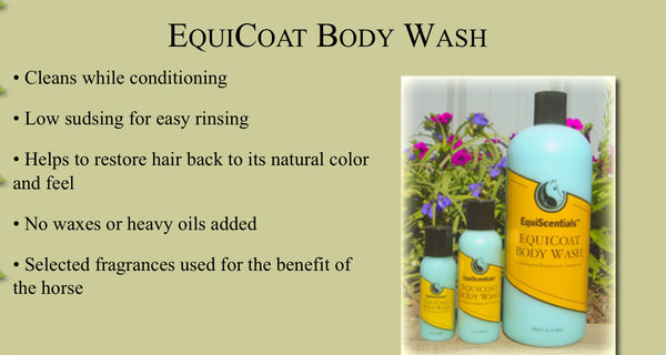 EquiScentials EquiCoat Body Wash