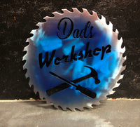 Dads workshop saw blade