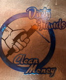 Dirty hands clean money