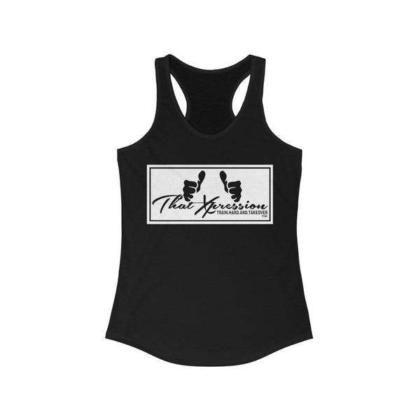 ThatXpression Fashion Fitness Branded Women's Racerback Tank