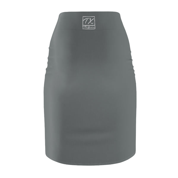 ThatXpression Fashion Gray Savage Women's Pencil Skirt