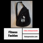 ThatXpression Fashion Fitness Gym Workout Aerobic Sling Bag