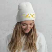 Hoodie Sweatshirt White/Yellow - ThatXpression