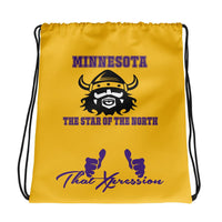 ThatXpression Fashion Fitness Vikings Themed Home Team Superfan Dress