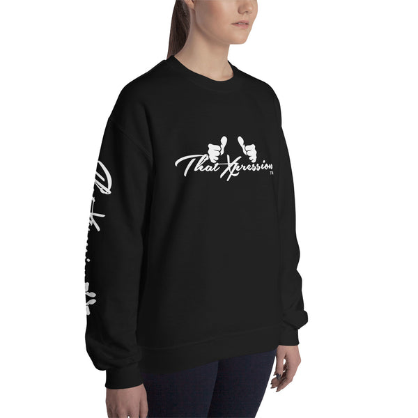 Unisex fashionable colorful sweatshirt perfect to workout in or casual use