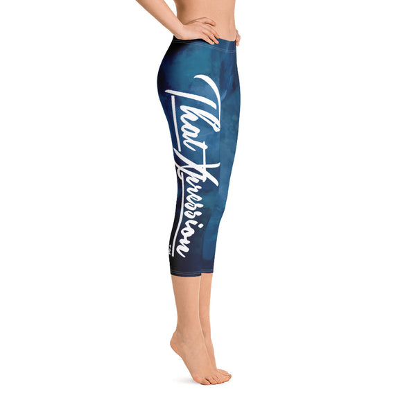 Women's Gym Fit or Casual Capri Leggings perfect for yoga cross fit and more