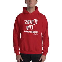 Train Hard And Takeover Zoned Out Gym Workout Unisex Fitness Casual Hoodie