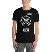 ThatXpression Two Wheels Move The Soul Biker Themed Vulcan Unisex T-Shirt