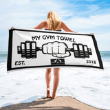 My Gym Fitness Cardio Barbell Towel by ThatXpression