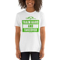 ThatXpression OMG Green Toned Short-Sleeve Gym Workout Unisex T-Shirt