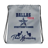 ThatXpression Fashion Fitness Dallas Texas Themed Gym Fitness Laptop Backpack