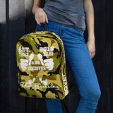 ThatXpression Fashion Fitness Train Hard And Takeover Camouflage Edition Gym Fitness Backpack