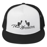 Train Hard And Takeover Gym Workout Trucker Cap by ThatXpression