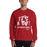 Train Hard And Takeover It's A Go Fitness Casual Unisex Gym Workout Sweatshirt