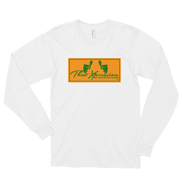 Unisex Rattlers FAMU Orange/Green Logo Long Sleeved T-Shirt by ThatXpression
