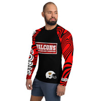 ThatXpression Ultimate Falcon Fan Active Fit Gym Rash Guard