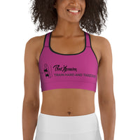 ThatXpression Fashion Gym Fitness Lady Fit Takeover Purple Gym Workout Sports Bra