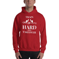 Train Hard And Takeover Gym Workout Unisex Fitness Casual Hoodie